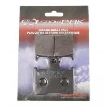 Тормозные колодки Yamaha Venture /Mountain MAX /SRX /VMAX 97-06 8CR-W0046-00-00 /8DF-W0046-01-00 / Snowe Pak 273832