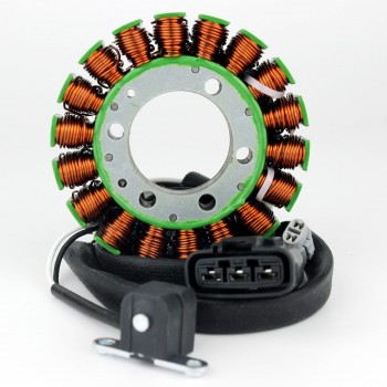 Статор генератора оригинал Yamaha VK10/Venture/Nytro/Vector 06+ 8ES-81410-00-00/8ES-81410-01-00