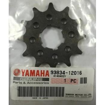 Звезда приводная 12 зубов Yamaha Grizzly 125 / Raptor/Banshee/Warrior 350 93834-12016-00 JTF569-12