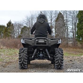 Бампер задний усиленный задний черный Yamaha Grizzly 700/550 07-15 SuperATV RBG-Y-GRIZ700