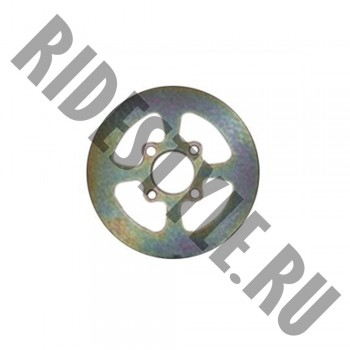 Тормозной диск задний Yamaha Raptor 700/350/250 YFZ450 1S3-2582W-10-00 EBC MD6263D