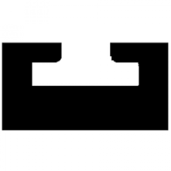Склиза графитовая снегохода SkiDoo 550-407/01-5538-01