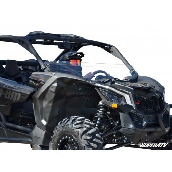Стекло половинка Can-Am Maverick X3 2017+ SuperATV HWS-CA-X3-75