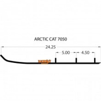 Коньки для снегохода Arctic Cat Bearcat /Thundercat /Pantera/Panther 0703-251/0703-173/EAT3-7050-1/EAT3-7050/16-72408