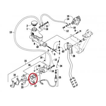 Сальники поршня тормозного суппорта Arctic Cat 0502-607