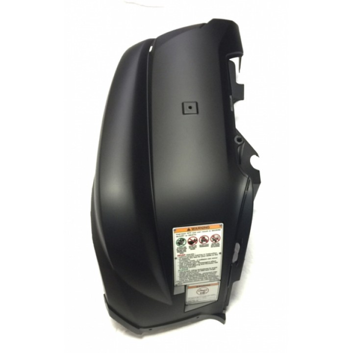 Крыло переднее левое черное Yamaha Grizzly 700/550 1HP-F1500-A1-98 /1HP-F1500-M0-98