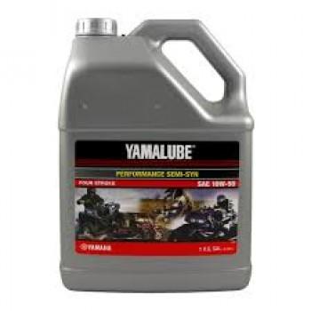Полусинтетическое спортивное моторное масло 4т Yamalube 10W-50 (3.78 л.) LUB-10W50-SS- 04