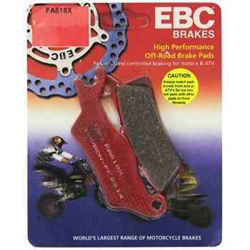 Тормозные колодки квадроцикла передние левые BRP/CanAm 705601015 Outlander/Renegade 400/500/650/800/1000 EBC FA618X
