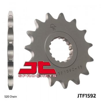 Звезда квадроцикла передняя JT 14 зубов на Yamaha Raptor 700, YFZ450 18P-17460-00-00 /9383G-14231-00 /1212-0662 JTF1592-14