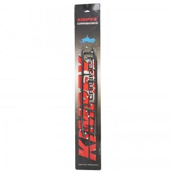 """Подрезы для лыж снегохода с карбидом 8"""" Yamaha Venture /VMAX /SRX /Mountain Max 700/600/500 97-00 8CS-23731-00-00 /8DF-23731-00-00 /GYT-WEARB-AR-00 /EYV3-6450 /16-72478 Kimpex 08-251-26 /274465"""