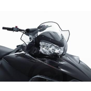 Ветровое стекло снегохода 30см Polaris IQ /Dragon /FST Shift /RMK /Switchback 800/700/600/550  5436750 /5437020 /5437056