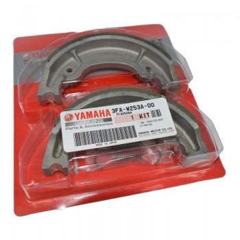 Тормозные колодки задние для Yamaha Grizzly 125 04-13 527G /EBC524G /437-W2534-10-00 /5HH-F5330-00-00 /3FA-W2534-00-00 /3FA-W2536-00-00 /183-W25342-00-0 /3FA-W253A-00-00 /MCS968 /