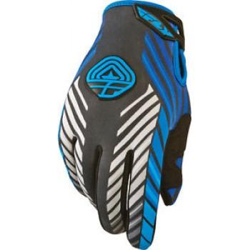 Перчатки зимние FLY RACING  907 GLOVES BLACK/BLUE SZ 7  367-64107 /5841 367-641~07