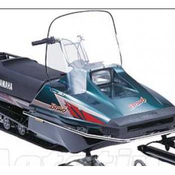 Стекло снегохода Yamaha Bravo 250 48см 2мм 80J-77210-10-00