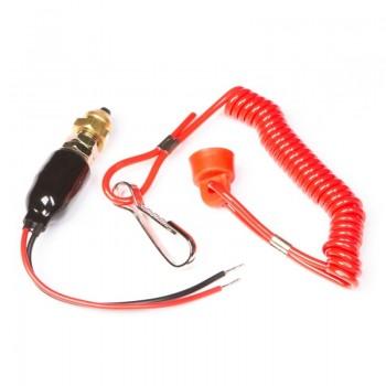 Чека безопасности Kill Switch для снегохода Ski-Doo 410103300, 410106700, 515175571, 515176525, 515175653 515132000, 515139000, 515151500 515176463, SPI 01-111-20