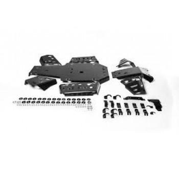 Защита днища композитная черная для Yamaha Grizzly 2016+ RIVAL К.7158.1