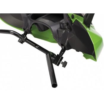 Стекло для квадроцикла универсальное с зеркалами красное ATV WindPro Viper CANDY APPLE RED-ASSY 1436-542
