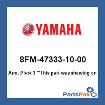 Кронштейн оси натяжитея гусеницы Yamaha Viking 540/VK10/RS Venture TF 8FM-47333-00-00