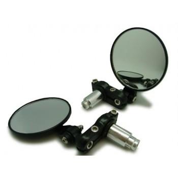 Зеркала квадроцикла /мотоцикла в ручки руля регулируемые JP-2052