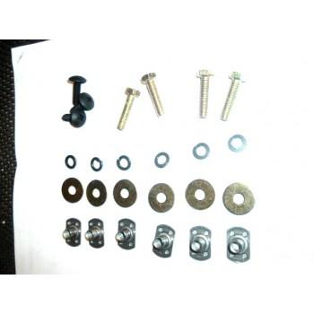 Комплект для установки защиты днища снегохода SkiDoo REV 861783600