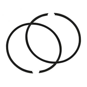 Поршневые кольца снегохода SkiDoo Skandic 550 STD 75,86мм 420815155+420815300/SM-09081R /54-779RS
