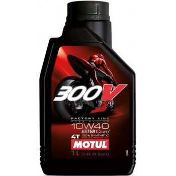 Масло моторное Motul 300V 4T FL ROAD RACING SAE 10W40 1л