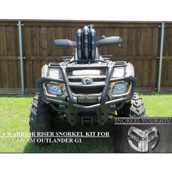 Комплект шноркелей для Can-Am G1  Outlander 2006-2012 SnorkelYourAtv Warrior Riser