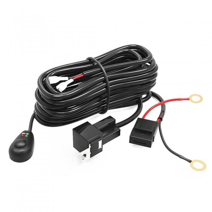 Комплект проводов для подключения LED света на квадроцикл до 300W 12V/40A SHL ATVSWITCH
