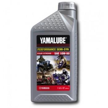 Моторное масло 4Т для квадроциклов Yamalube 10W50 Semisynthetic Oil 0,946л LUB-10W50-SS-12 /LUB10W50SS12