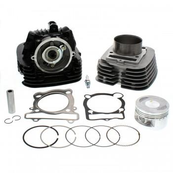 Комплект двигателя верхний головка блока, цилиндр, поршневой комплект в сборе Yamaha Raptor 350 CY350CA+CH350CA