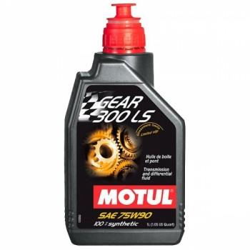 Трансмисионное масло в редуктора квадроцикла MOTUL Gear 300 LS 75w-90 1 л 102686