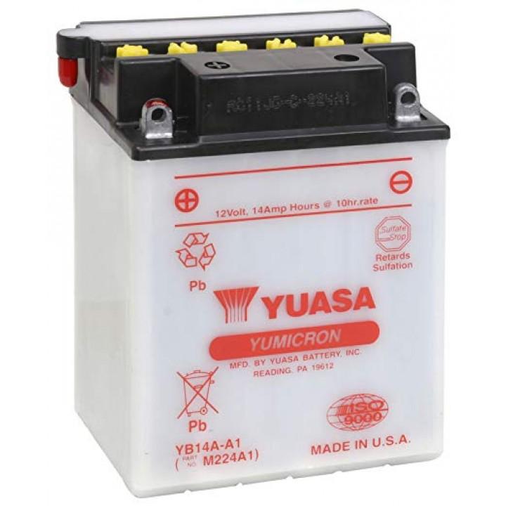 Аккумулятор Yamaha YB1-4AA10-00-00 /BTY-YB14A-A1-00 /BRP 715900171 Yuasa YB14A-A1