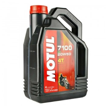 Моторное масло Motul 7100 4T 20W50 4литра.