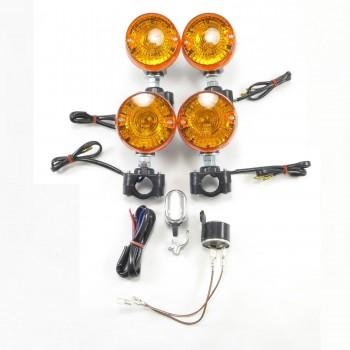 Поворотники для квадроцикла универсальные Yamaha /Arctic Cat /Polaris /Can-Am /Honda /Suzuki /Kawasaki /Hisun /Stels 66-1505