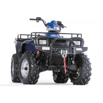 Передний бампер с креплением под лебедку Polaris Sportsman 700/600 02-04 WARN 65984