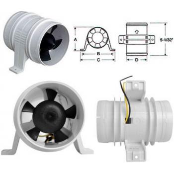 Вентилятор охлаждения шноркелей /Турбина на шноркеля Polaris RZR 1000 T3000
