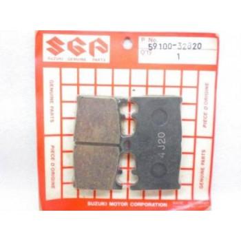 Тормозные колодки оригинал Suzuki GSF400 /GSXR 750/650 /GSR 600 59100-32820 /59100-32820-000 /FA158