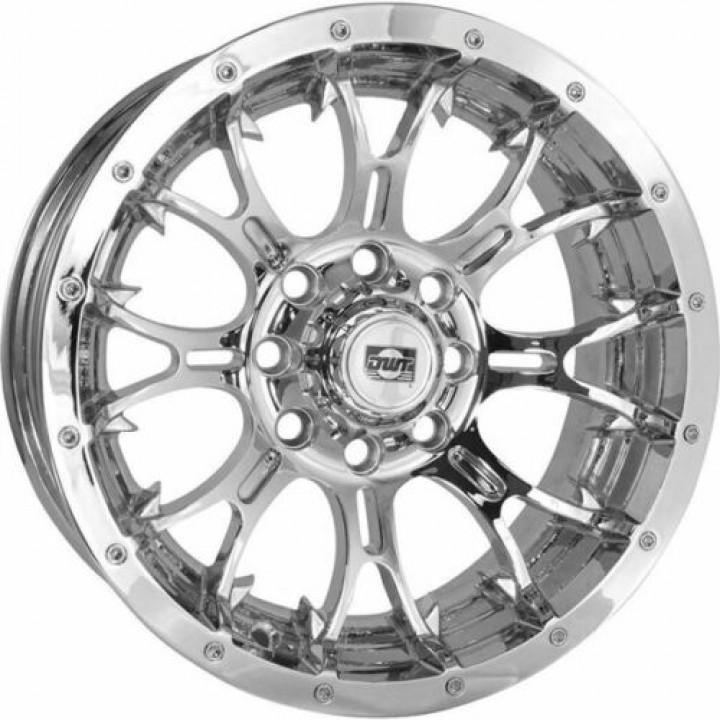 Комплект колесных дисков 14x8, 4/156, 5+3 для Polaris Sportsman /RZR /Ranger /General DWT DIABLO WHEEL Chrome 55-7126 /993-41C