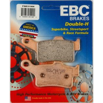 Тормозные колодки задние BRP Spyder 2013+ двойная синтетика 219800239 EBC FA631HH