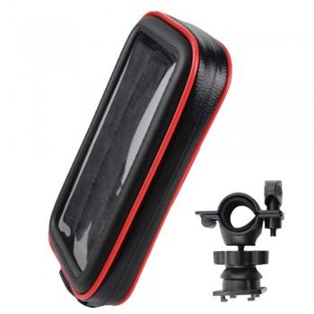 Держатель телефона /навигатора влагозащитный на руль квадроцикла /снегохода /мотоцикла TSK TYPE183