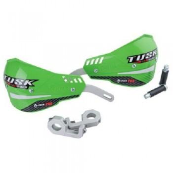 "Защита рук зеленая двухточечная 22мм Tusk D-Flex Pro Handguards Green 7/8"" Bars 1760390013"