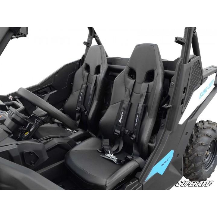 Ремни безопасности 4-х точечные UTV Latch Seatbelts SuperATV SB-2-BLACK