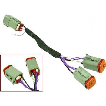 Y - образный адаптер для подключения аксессуаров снегоходов Ski-Doo 860201141 /27-59651 /SM-01602