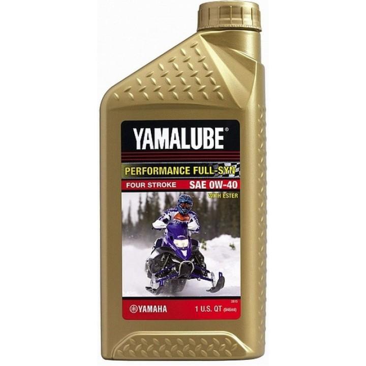 Масло оригинальное 0.946 Yamaha Yamalube 0W-40 LUB-00W40-FS-12