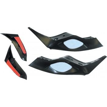 Зеркала снегохода Yamaha RS Venture / RX-1 / Nytro / Rage /RX-1 SMA-8FA77-00-00 /12-165-24 /54-10180 /SM-12356