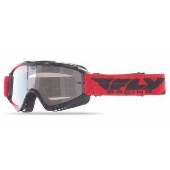 Маска снегоходная красная /черная FLY Zone Goggles 37-3020