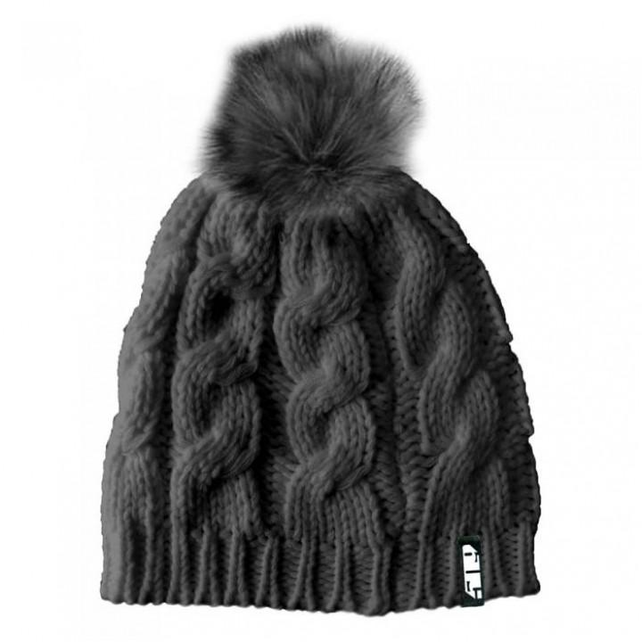 Шапка 509 Fur Pom, взрослые, жен. (GREY, OS) F09001800-000-601