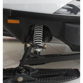 Пружина амортизатора лыжи белая Polaris Widetrak LX 7041261-385 /7041261-133 /7041261-067 /7041213 /7041242 /7041242-01 /7041242-067 /7041242-093 /7041242-156 /7041261-067 /7041261-093 /7041261-125 /7041261-156