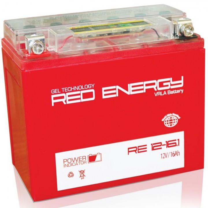 Аккумулятор Red Energy RE 12-16.1 (YTX16-BS, YB16B-A)