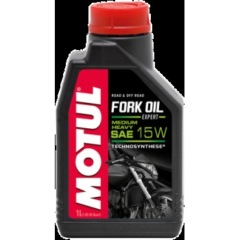 Вилочное масло Motul fork oil expert medium/heavy 15w 1л 101138 /008417 /822111
